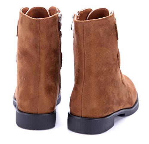 Camel Klassische Zierkette cm 4 Damen Schuhe Stiefeletten Blockabsatz Stiefel Schuhtempel24 Argeliers Boots qvZ1Sv