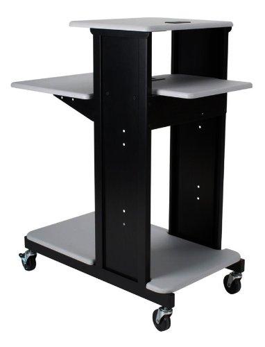 Balt xtra Long Presentation Cart Optional Cabinet - Gray