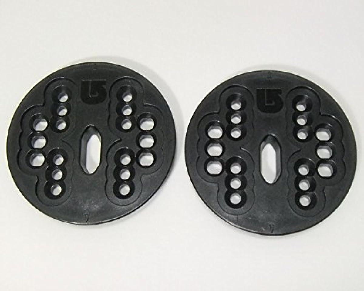 [해외] 버튼BURTON 구형 바인딩 전용 디스크 플레이트 CHANNEL보드 4×4보드 양방 대응 빈딩 파트
