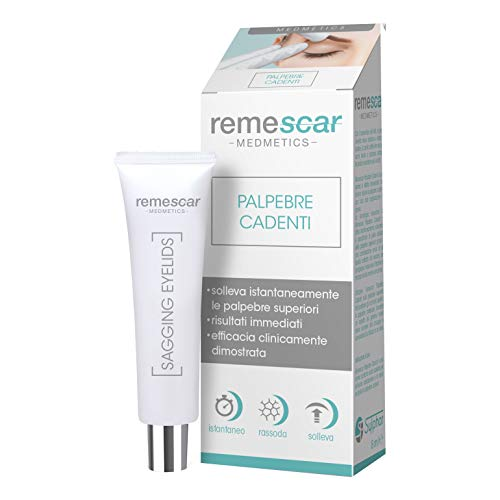 Remescar Clinically Proven Anti Aging Eye Cream Against Sagging Eyelids | Designed for Quick and Easy Lifting of Sagging Eyelids | Made by Remescar