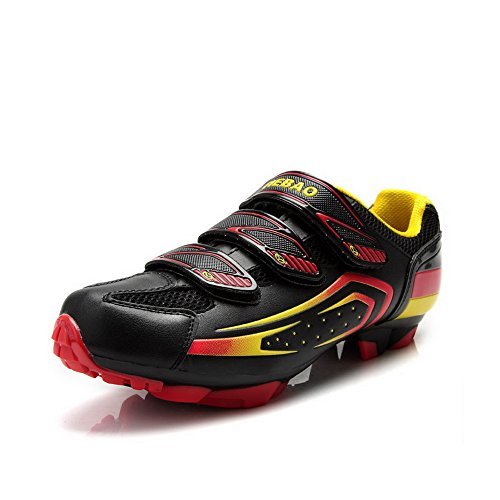 Shoes Riding For Cycling And Black Tiebao Outdoor Indoor MTB Shoes 5q1AwYZ