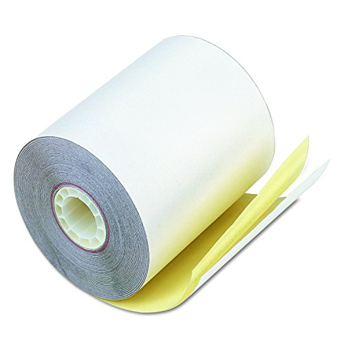 PM Company Self-Contained Financial Rolls, 2-Ply, 3-1/4'' x 80', 60 Rolls per Carton (07685) by PM Company