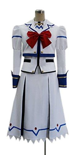 Nanoha Cosplay Costume (Dreamcosplay Magical Girl Lyrical Nanoha Takamachi Cosplay Costume)