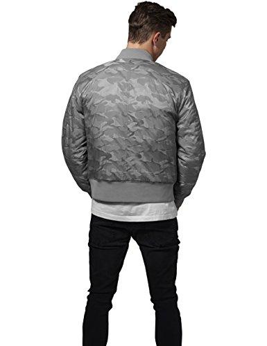 Grau Camo Classics 372 Tonal Jacket stone Urban Uomo Bomber qYEnwZp