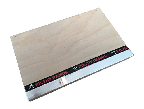 Filthy Fingerboard Ramps Mini Manual Pad with Ledge from, for fingerboards and tech Decks