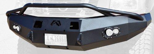 (Fab Fours NT04-H1752-1 Winch Bumper for Titan LD '04-'10)