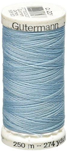 Gutermann Sew-All Thread, 273-Yard, Powder Blue (Cotton Gutermann Powders)