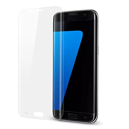 ASLING Galaxy S7 Edge Screen Protector, 3D Tempered Glass Screen Protector with 9H Hardness Full Coverage Ultra HD Clear Anti-Bubble Scratch Proof Military Grade Screen Cover (transparent)