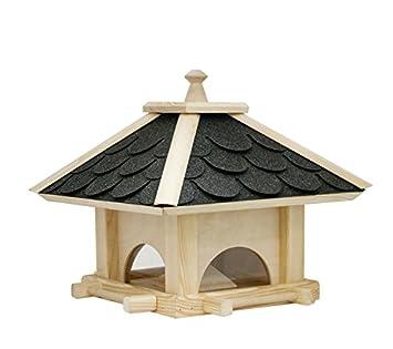Deko Shop Hannusch Nichoir A Oiseaux En Pin Et Bardeaux 36 X