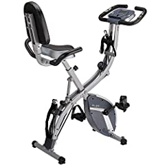 Looking or a bike that offers a complete cardio workout but limited by the amount of living space? This is the perfect space-saving exercise machine. Key Features: ★The exercise bike can easily adjust between Upright - Semi-Recumbent - Recumb...