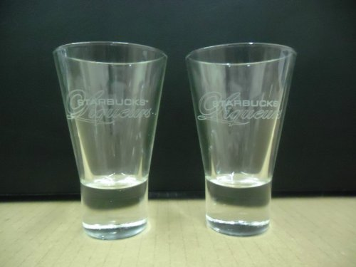 Set of 2 Starbucks Liqueurs Liqueur Coffee Espresso Replica Shot Glasses