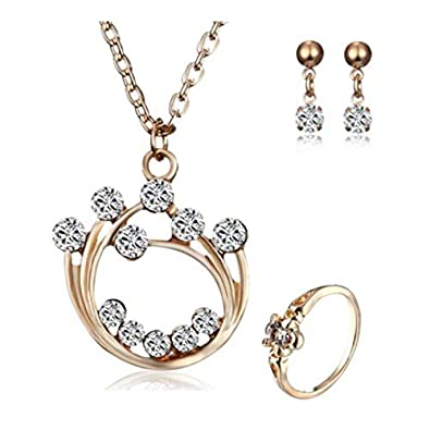 Jewelry & Watches Hearty Women Bollywood Jewelry Necklace Earrings Set Engagement & Wedding