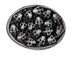 Diamond Skull Belts Clothing (Skull Belt Buckles)