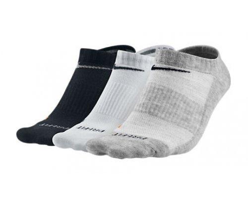 Cush Blanco Non Show 3p Nike f Calcetines Unisex Grey D white Gris No flint qw6tnnzIa