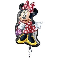 Anagram - Globo de helio con cuerpo de Minnie Mouse (2637401), 1 unidad