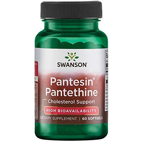 Swanson Pantesin Pantethine 300 Milligrams 60 Sgels