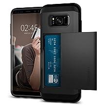Spigen Slim Armor CS Designed for Samsung Galaxy S8 Plus Case (2017) - Black