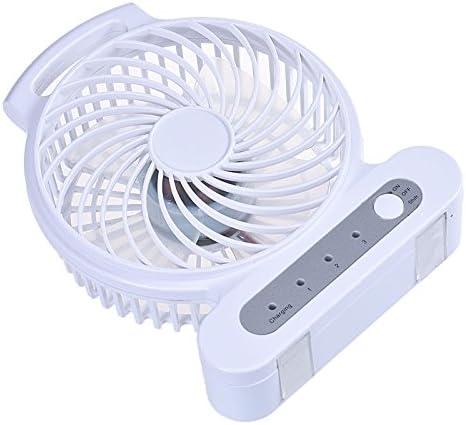 White Mini Handheld Fan,Beautyolove Mini Handheld Fan Personal Portable Desk Stroller Table Fan with USB Cooling Electric Fan for Office Room Outdoor Household Traveling