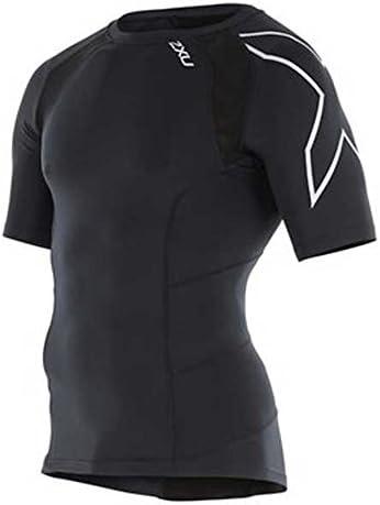 MA2307A 2XU Men/'s Short Sleeve Compression Top