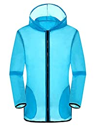 La Vogue Men's Suncreen Jacket 50+ UV Protection Quick Dry Windproof