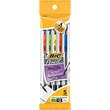 BIC Mechanical Pencils, Black, 0.7mm, 5-pack