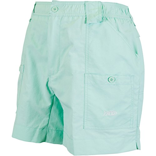AFTCO Original Fishing Shorts Vivid Blue Size 34