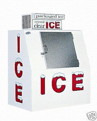Leer Model 40 Slant Outdoor Ice Merchandiser by LEER