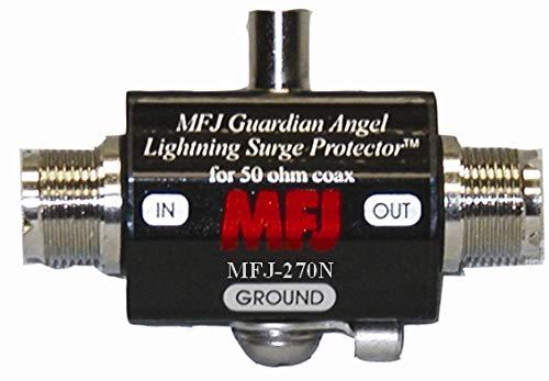 MFJ-270N Lighting Protector, N-Type, 400W PEP For Sale