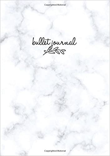 Bullet Journal: Marble Notizbuch A5 Dotted: Bullet Journal ...