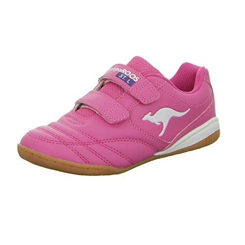 KangaROOS Kangayard 30201174A 0690100Girls Indoor Red - Rot (Pink)