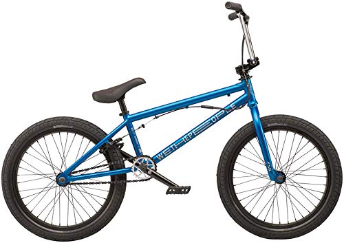 We The People CRS FS 20 2019 Complete BMX Bike 20.25 Top Tube Metallic Blue