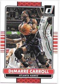 DeMarre Carroll 2014-15 Donruss Atlanta Hawks Card #63
