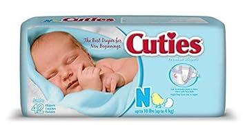 Pañales para bebés, recién nacido, 42 Count