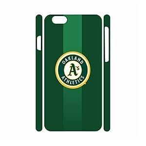 Artistical Handmade Hard Plastic Baseball Team Logo Designer Print Phone Accessories for Case Cover For Apple Iphone 6 Plus 5.5 Inch