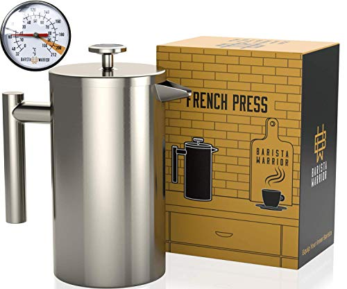 Stainless Steel French Press Thermometer product image