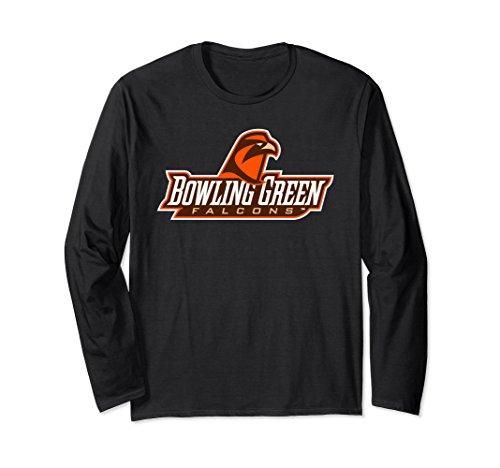 (BGSU Falcons College NCAA Long Sleeve T-Shirt PPBOW02)