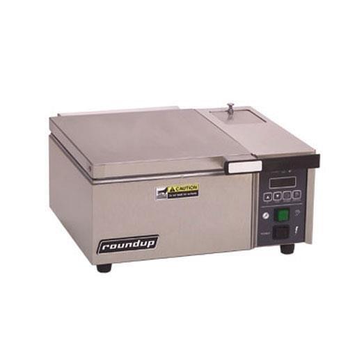 Roundup DFW-150 Deluxe Steam Food Cooker 1/2 size pan capacity 2-7/8''D pan