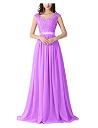 ThaliaDress Chiffon Applique Bridesmaid Prom Evening Dress T007LF