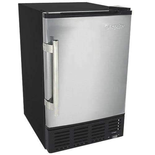 EdgeStar IB120SS Built in Ice Maker, 12 lbs, Stainless Steel and ()