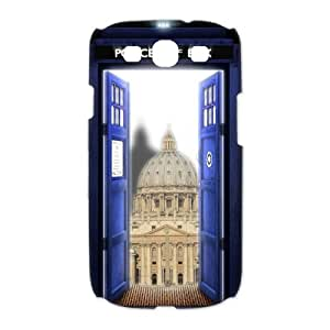 Samsung Galaxy S3 I9300 Phone Case Doctor Who Tardis Police Call Box V8T90050