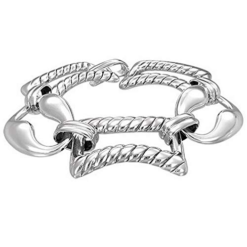 .925 Sterling Silver Link Chai