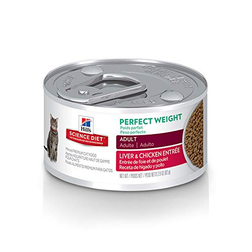 Hill's Science Diet Wet Cat Food, Adult, Perfect Weight