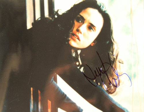 2002-jennifer-connelly-autographed-8x10-photo-signed-in-blue-sharpie-obtained-in-person-from-a-beaut