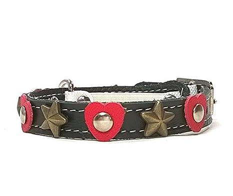 Superpipapo Collar para Gatos de Cuero con Cierre de Seguridad Elastico, Tu Gato es tú Corazon: Amazon.es: Productos para mascotas