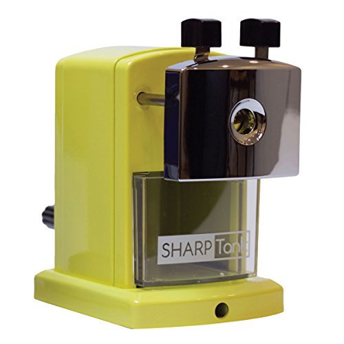SharpTank Portable Pencil Sharpener (Honey Bee) | Compact & Quiet Classroom Sharpener That Gets Straight to The Point! by SharpTank (Image #1)