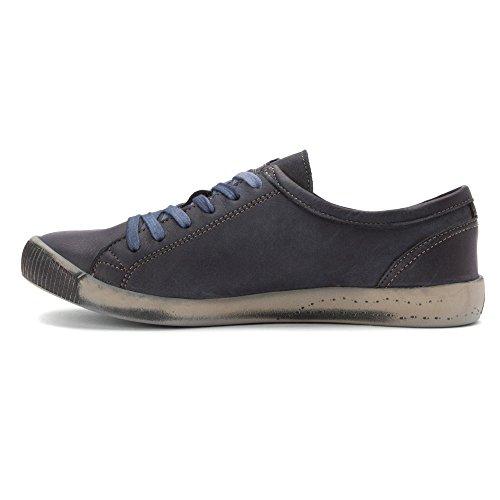 Chaussure Sneaker En Cuir Délavé Isla Pour Femme