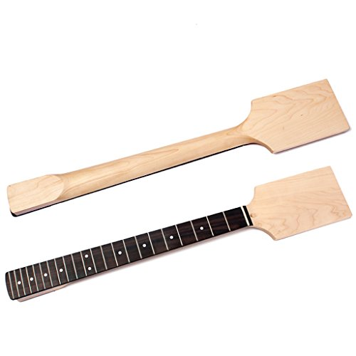 MagiDeal Exquisite Wood Unfinished Guitar Body + Neck Fretboard for Fender ST Electric Guitar DIY Parts by non-brand (Image #9)