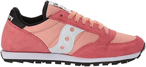 Women's Jazz Saucony Coral white Sneaker Lowpro qZEaA
