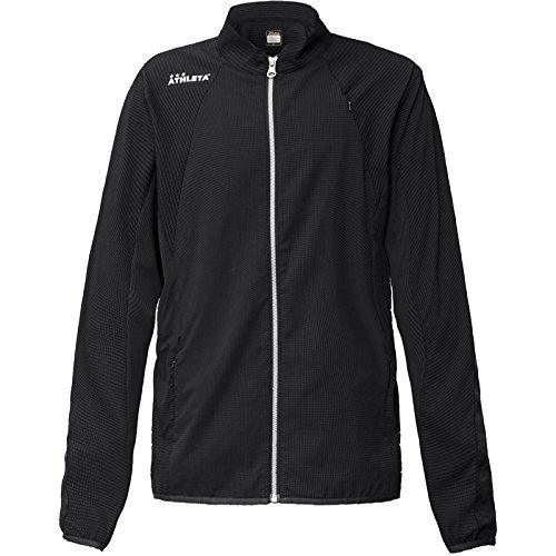 生活土曜日句ATHLETA(アスレタ) ドットエアートレーニングジャケット REI-1046 Mサイズ ブラック