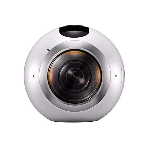 SAMSUNG 三星 サムスン ギア Gear 360度 VR カメラ(SM-C200) + Micro SD 64GB 球状 Camera for Galaxy S6 S6 edge S6 edge+ Note5 S7 S7 edge (International Version)